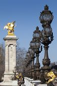 Alexandre Iii Bridge, Paris, Ile De France, France