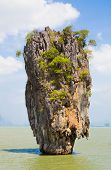Khao Phing Kan Rock Island In Thailand