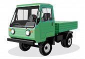 Green lorry