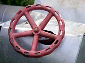 Red Old Valve