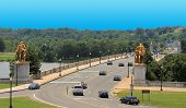 Arlington Memorial Bridge in DC