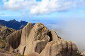 Peak Mountain Prateleiras  In Itatiaia National Park, Brazil