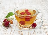 ?up Of Tea With Raspberry