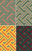 Indian Geometric Pattern Seamless
