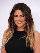 LOS ANGELES - NOV 23:  Khloe Kardashian arrives to the 2014 American Music Awards on November 23, 2014 in Los Angeles, CA
