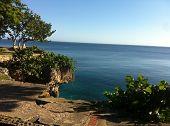 Horizonte sobre el mar