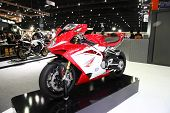 Bangkok - November 28: Agusta F4 Motorcycle On Display At The Motor Expo 2014 On November 28, 2014 I