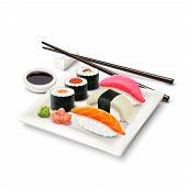Sushi Realistic Set