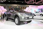 Bangkok - November 28: Mitsubishi All Ner Triton Car On Display At The Motor Expo 2014 On November 2