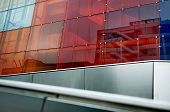 Building With Colorful Glass