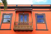 Typical Palmeras balcony