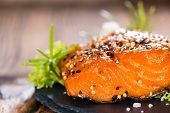 Smoked Salmon With Spices