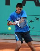 Novak Djokovic (srb) At Roland Garros 2010