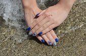 Beauty Treatment Of Fingernails, Manicure