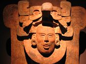 Sculpture Of Zapotec Culture