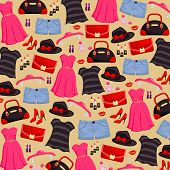 Fashion item background