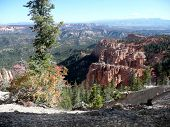 A Lookout Over Bryce Canyon.