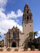 California Tower And Museum Of Man From Balboa Park