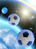 Sky  Stars  Balls