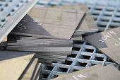 Polished Sheet Metal Segments