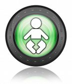 Icon, Button, Pictogram Nursery