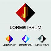 image of letter j  - Letter J logo - JPG