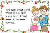 greeting card for new born baby