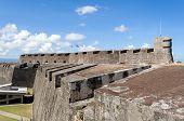 pic of san juan puerto rico  - Castillo de San Cristobal in Old San Juan Puerto Rico - JPG