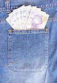 Rands in pocket