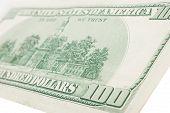 pic of twenty dollar bill  - One hundred dollars bill - JPG