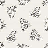pic of okras  - Okra Doodle - JPG