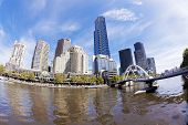 image of cbd  - View of Southbank area in Melbourne CBD in the daytime - JPG