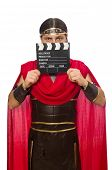 pic of clapper board  - Gladiator with clapper - JPG