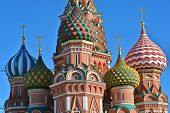 picture of cupola  - Moscow Cathedral of Saint Basil - JPG
