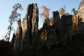 pic of rocking  - The Prachov Rocks - JPG