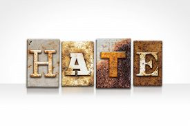 picture of hate  - The word  - JPG