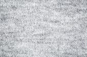 close-up of gray and white knitted fuzzy wool sweater texture poster