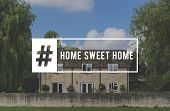 Home Sweet Home Address Living Property poster