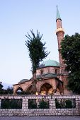 Famous mosque in Bascarsija Sarajevo - evening time