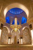 Shaikh zayed mosque in Abu Dhabi, UAE - Interior
