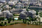 The Watergate complex is an office-apartment-hotel complex built in 1967 in northwest Washington D.C