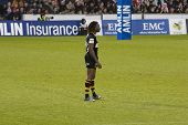 LONDON - MAY 1: Paul Sackey plays for home team London Wasps in the semi finals of the Amlin Challen