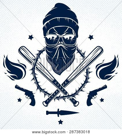 Gangster Emblem Logo Or Tattoo