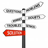 Problems And Solution Signpost