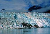 Blue Ice Against The Sky