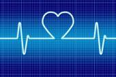 Blue heart signal