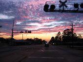 Sunset On The Tracks