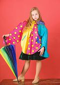 Enjoy Rainy Weather With Proper Garments. Waterproof Accessories Make Rainy Day Cheerful And Pleasan poster