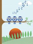 Tree dawn chorus