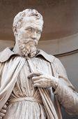 Statue Of Michelangelo Buonaroti